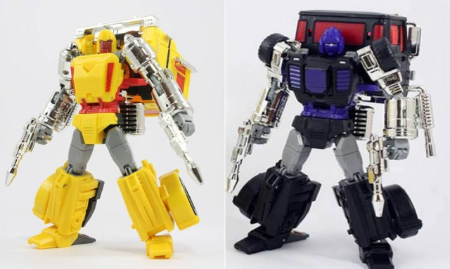 TFCon 2014 Exclusive - Masterpiece Axis & Shafter Set