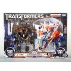 DOTM - Leader Class - Buster Optimus Prime & Jetfire Giftset