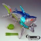 Beast Wars - Transmetals 2 - Cybershark - 100% Complete