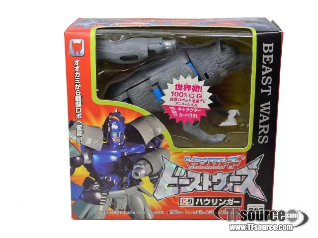 Beast Wars - C-9 Wolfang - MISB