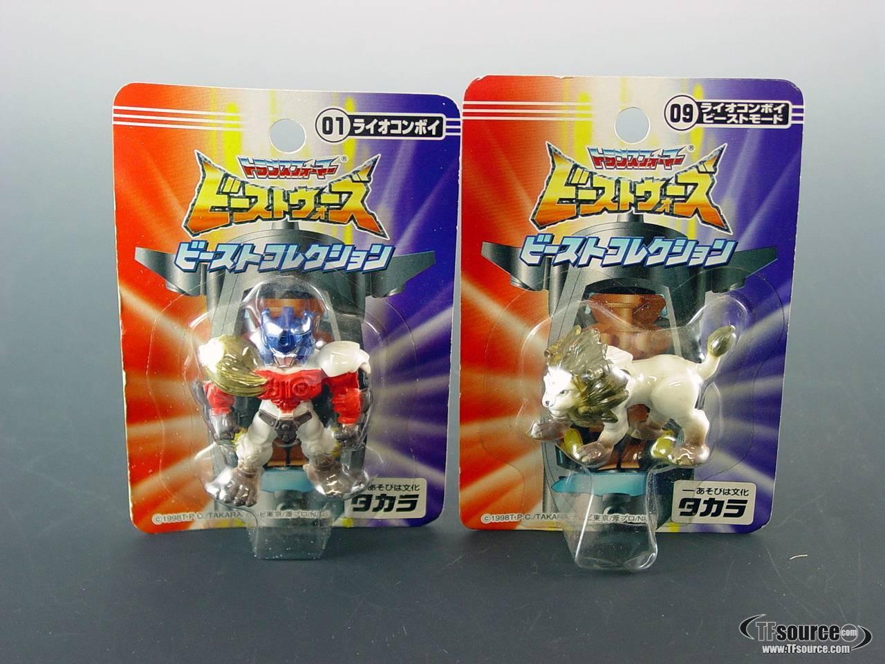 Japanese Beast Wars - Lio Convoy Figure Pair - MOSC