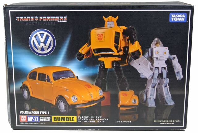Masterpiece - MP-21 Bumblebee with Spike figure - MISB
