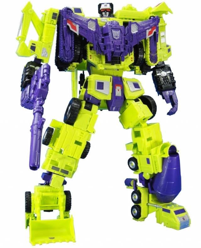 UW-04 Devastator Combiner Set of 6 | Transformers Unite Warriors