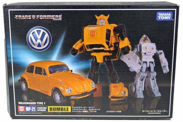 Masterpiece - MP-21 Bumblebee with Spike figure - MIB - 100% Complete