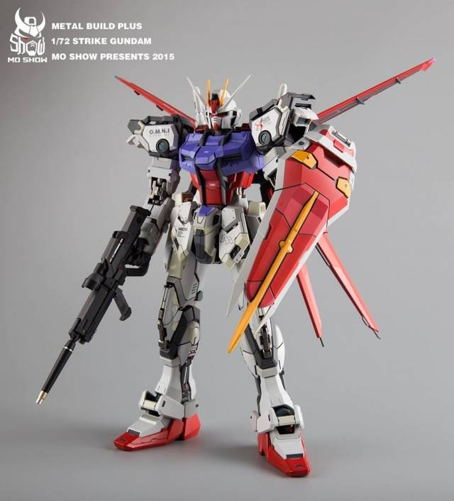 MoShow - Metal Build Plus - 1/72 Aile Mecha Warrior