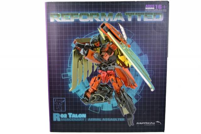 Reformatted - R-02 - Talon the Aerial Assaulter - MIB