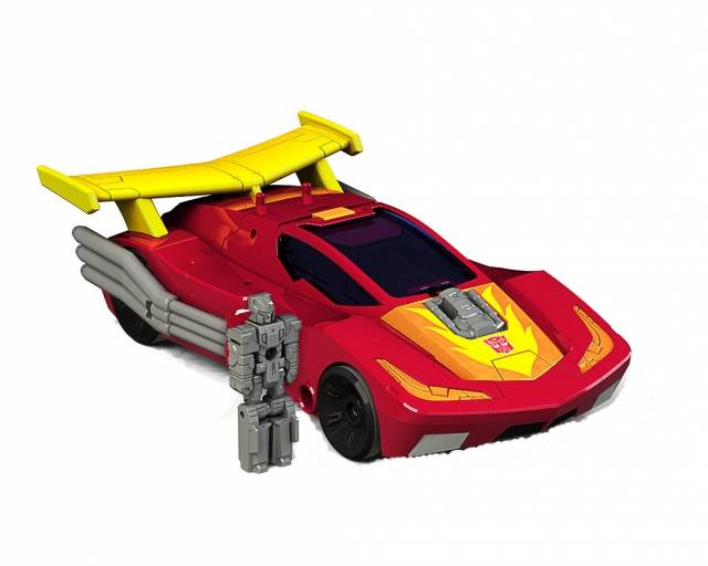Deluxe Hot Rod and Firedrive | Transformers Titans Return