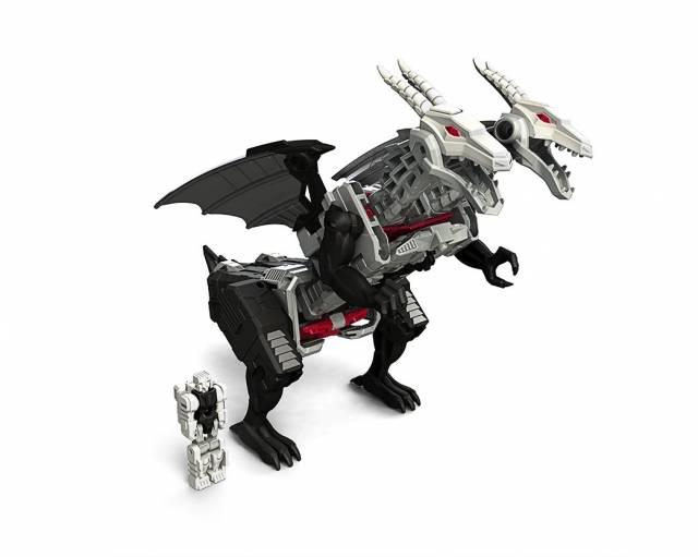 Deluxe Twinferno and Daburu   Transformers Titans Return