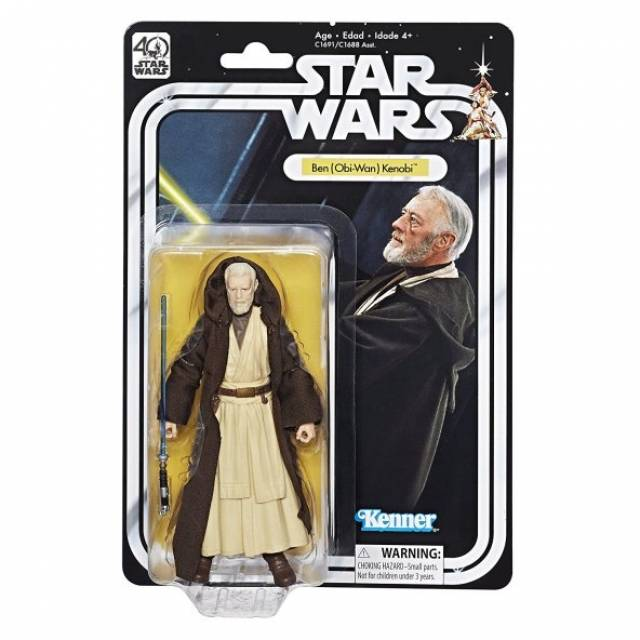 Star Wars Black Series 6'' - 40th Anniversary Figure - Wave 01 - Ben (Obi-Wan) Kenobi
