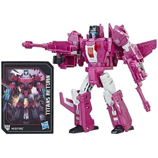Deluxe Misfire and Aimless | Transformers Titans Return