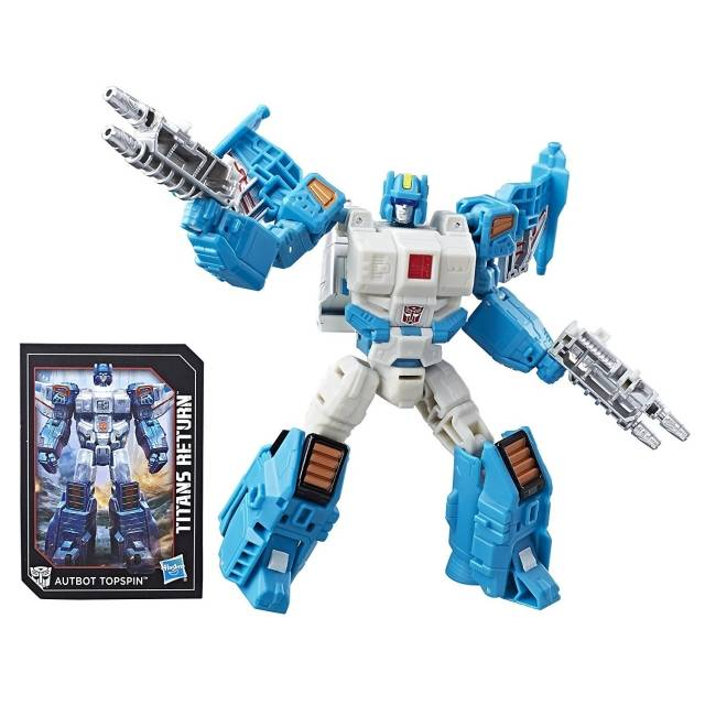 Deluxe Topspin and Freezeout | Transformers Titans Return | Mint on Card