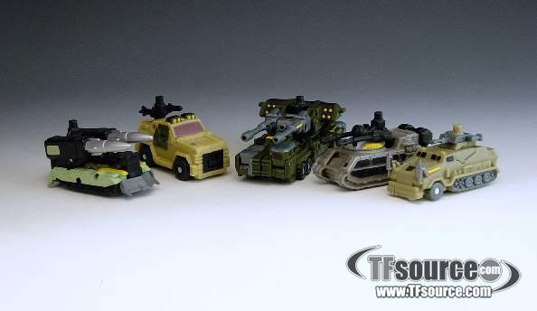 Power Core Combiners - Combiner Series 1 - Combaticons - Loose - 100% Complete