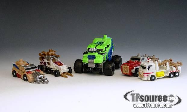 Power Core Combiners - Combiner Series 2 - Destructicons - Loose - 100% Complete