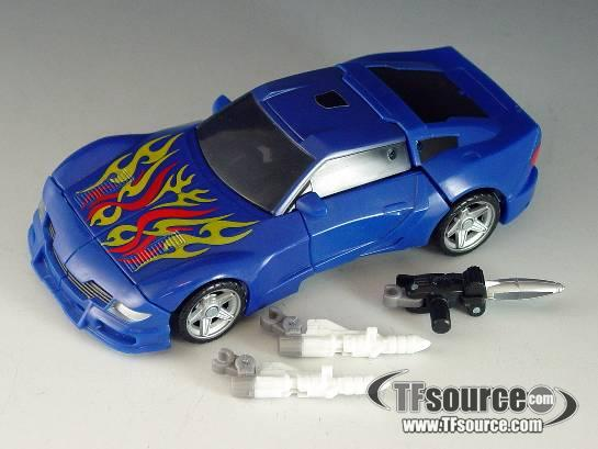 Transformers 2010 - Deluxe Series 05 - Turbo Tracks - Loose - 100% Complete