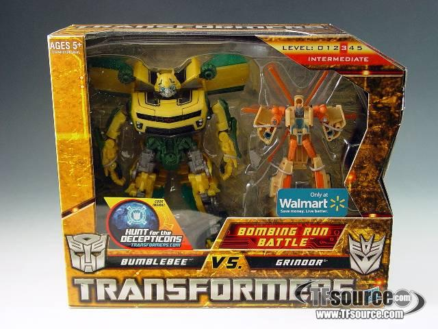 Transformers 2010 - Legends Series - Bombing Run Battle - Wal-Mart exclusive