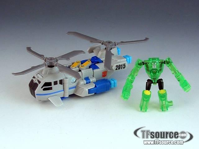 Transformers 2010 - Power Core Combiner 2-Pack - Searchlight w/ Backwind - Loose - 100% Complete