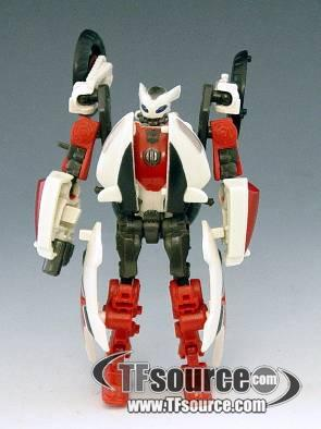 Transformers 2010 - Scout Series - Backfire - Loose - 100% Complete