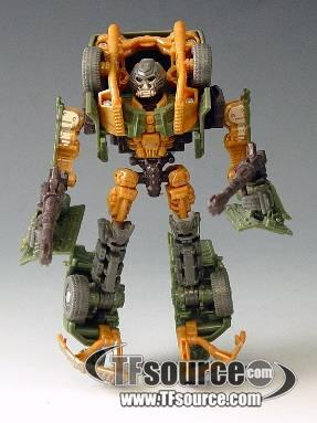 Transformers HFTD - Scout Series - Firetrap - Loose - 100% Complete