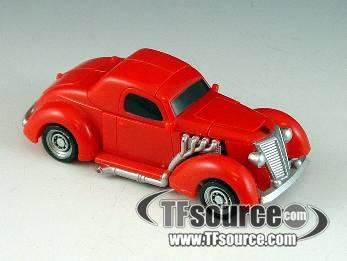 HFTD - Scout Series - Hubcap - Loose - 100% Complete