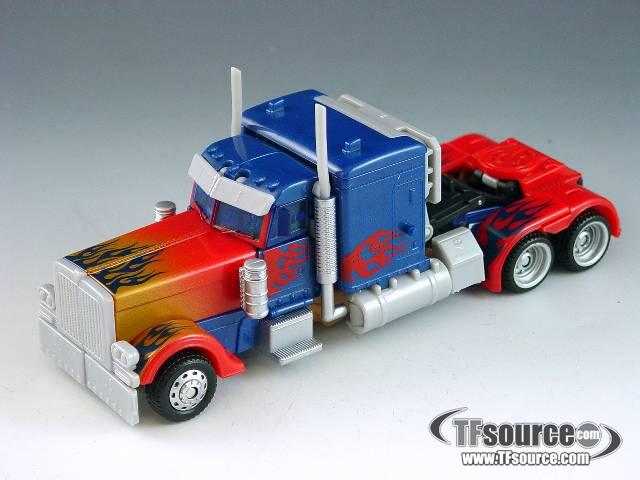 Transformers 2010 - Voyager Series - Battle Blades Optimus Prime - Loose - No Matrix