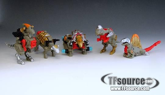 Power Core Combiners - Combiner Series 1 - Dinobots - Loose - 100% Complete