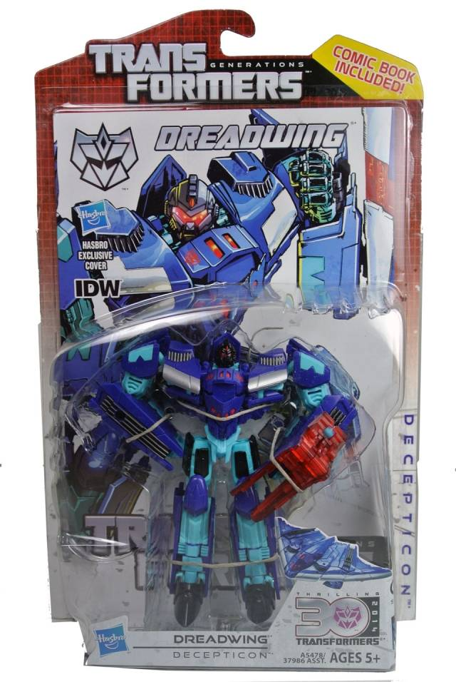Transformers 2014 - Generations Series 01 - Deluxe - Dreadwing - MOSC