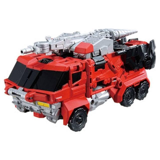 Transformers Go - G03 - Ganou Samurai - Fire Truck