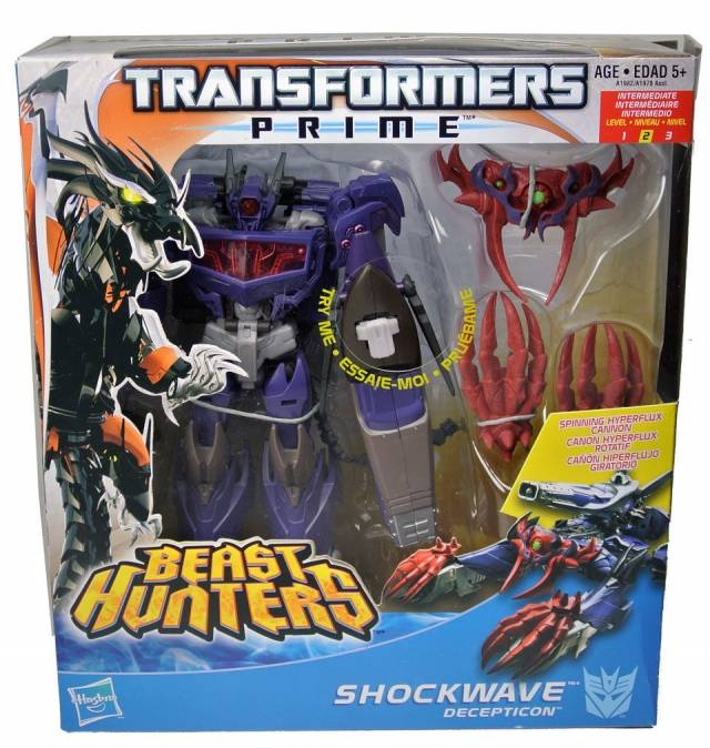 Beast Hunters - Transformers Prime - Shockwave - MIB