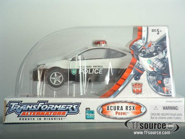 Alternators - Prowl - Domed Packaging - MISB