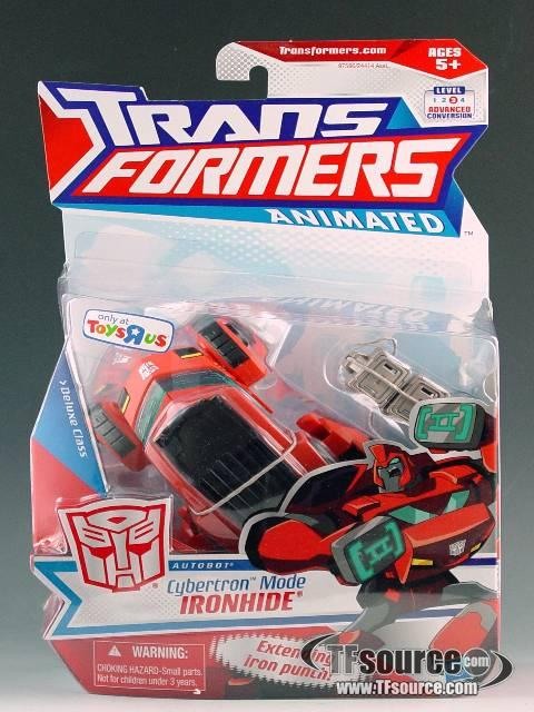 Transformers Animated - Cybertron Mode Ironhide - MOSC