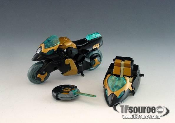 Transformers Animated - Deluxe Samurai Prowl - Loose - 100% Complete
