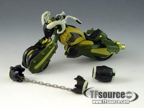 Transformers Animated - Deluxe - Oil Slick - Loose - 100% Complete