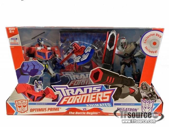 Transformers animated optimus prime vs megatron the - Transformers cartoon optimus prime vs megatron ...