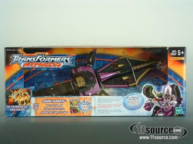 Armada - Dark Saber Sword - MISB