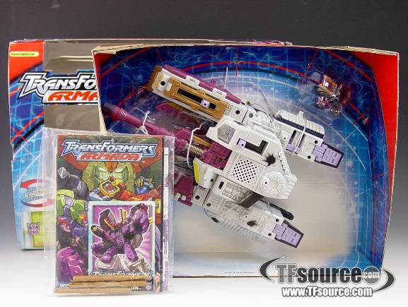 Armada - Galvatron with Clench - MIB - 100% Complete