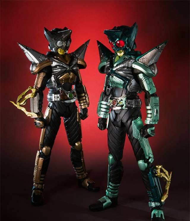 S.I.C. - Kamen Rider Punch Hopper & Kick Hopper