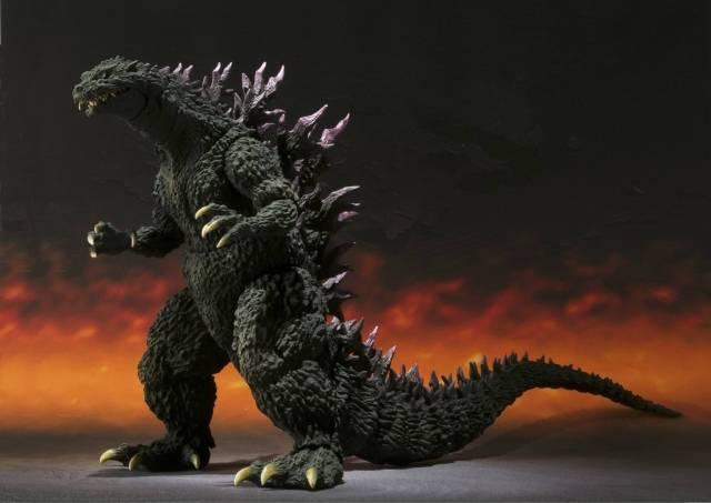 S.H.MonsterArts - Godzilla 2000 Millennium