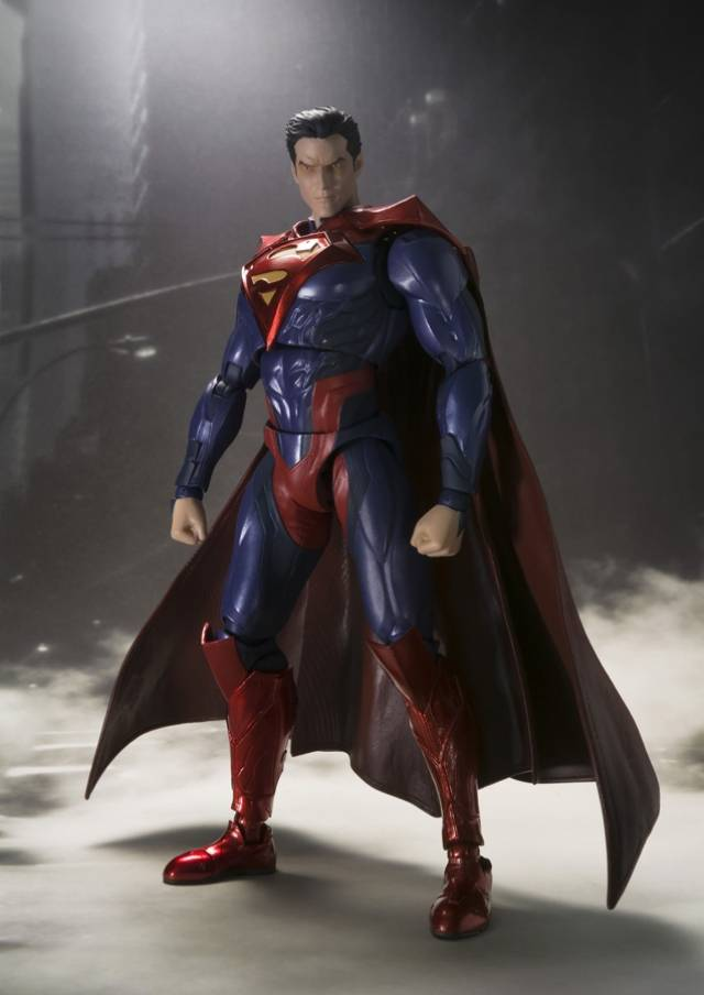 S.H. Figuarts - Superman - Injustice Gods Among Us