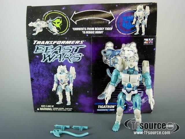 Botcon - 2001 Tigatron Transmetal  - MIB - 100% Complete