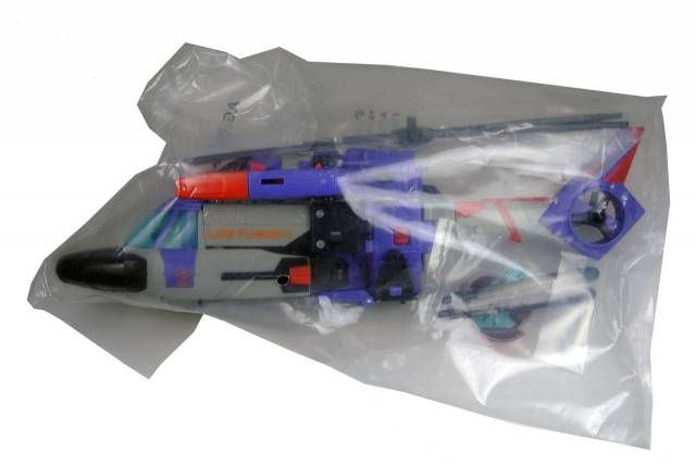 Botcon 2011 - Souvenir Exclusive - Shattered Glass Galvatron - MISBAG