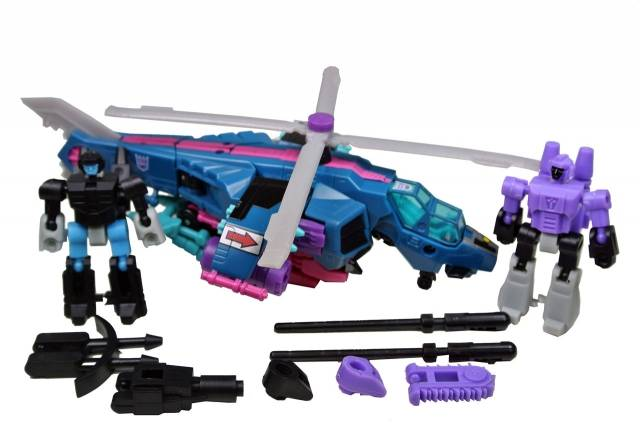 Botcon - Spinister w/Firebox and Pinnacle - Loose - 100% Complete