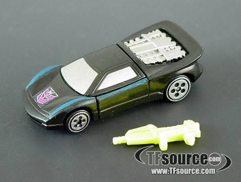 Botcon - 1995 Nightracer - Loose - 100% Complete