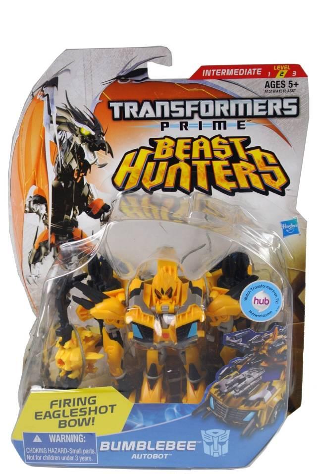 Beast Hunters - Transformers Prime - Bumblebee - MOC
