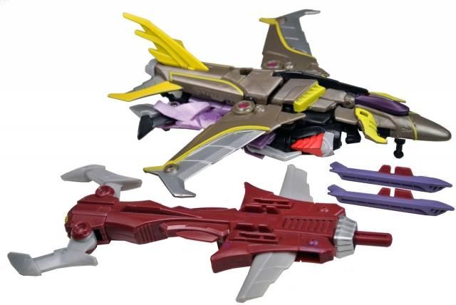 Beast Hunters - Transformers Prime - Starscream - Loose - Missing 1 missile