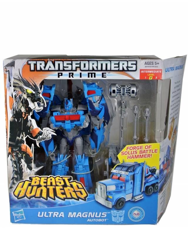 Transformers Prime - Beast Hunters - Ultra Magnus - MIB - 100% Complete