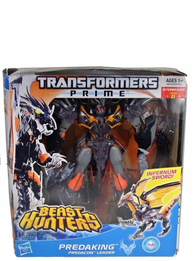 Beast Hunters - Transformers Prime - Voyager Wave 01 - Predaking version 2 - MIB - 100% Complete
