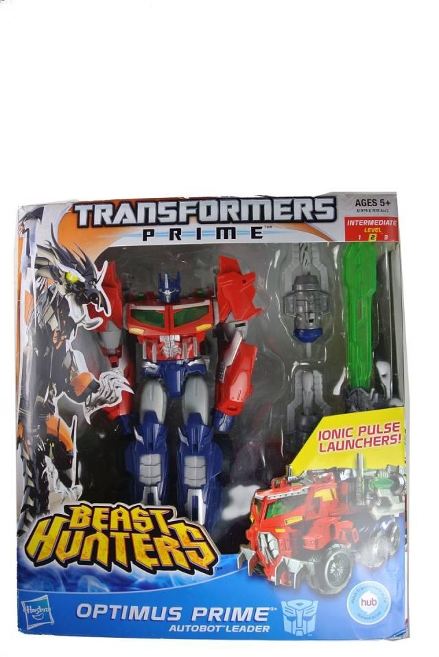 Beast Hunters - Transformers Prime - Voyager Optimus Prime - MIB