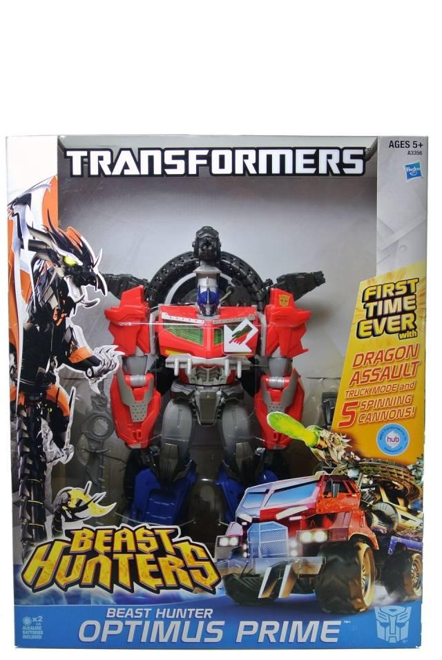 Beast Hunters - Ultimate Optimus Prime - MISB