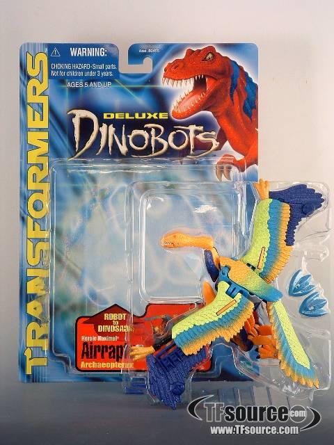 Beast machines - Deluxe Dinobot - Airraptor - MIB - 100% Complete