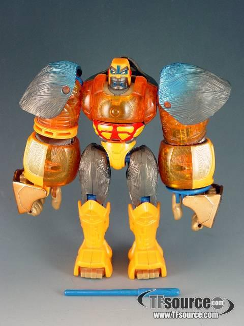Beast Machines - Blast Punch Optimus Primal - Loose - 100% Complete